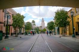 Buena Vista Street and Carthay Circle Restaurant