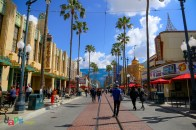 Hollywood Land gets busier as the morning progresses
