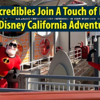 The Incredibles Join A Touch of Disney at Disney California Adventure