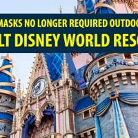 Face Masks No Longer Required Outdoors at Walt Disney World Resort