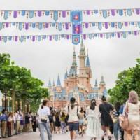 Disney Fans Join Characters in Singing Happy Birthday to Shanghai Disney Resort