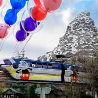 Disneyland Monorail to Return to the Disneyland Resort Tomorrow, October 15