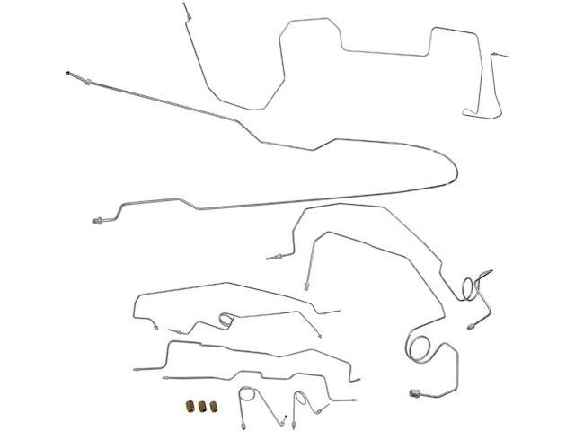 Brake Hydraulic Line Kit C592CR for GMC K1500 Suburban