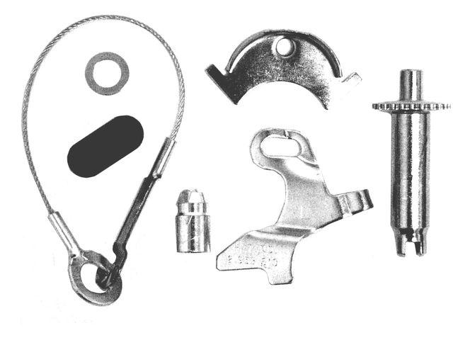 Drum Brake Self Adjuster Repair Kit X364BN for Mustang