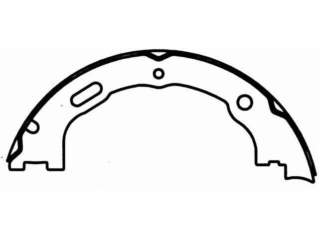 Rear Brake Shoe Set Wagner T379JW for Mercury Marauder
