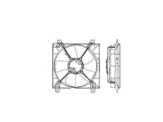 Radiator Fan Assembly K133XR for Suzuki Forenza Reno 2007