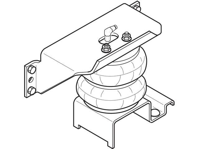 Rear Air Lift Leveling Kit K254YN for F53 F59 2000 2006