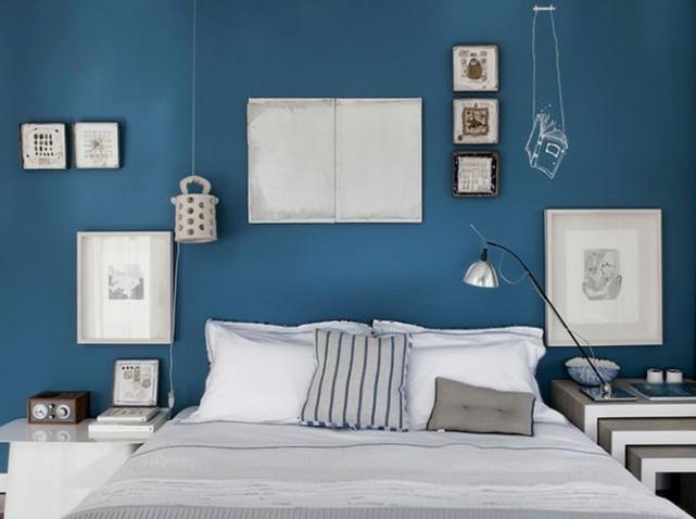 Refaire sa chambre en bleu  Dar Dco Dcoration