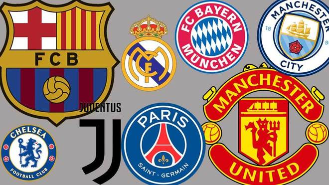 Man United  yawapiku Man City, Barca, Madrid