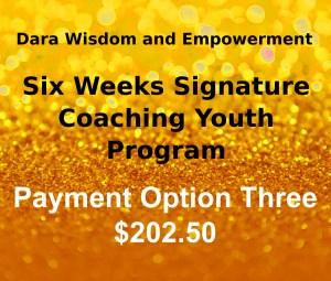 Payment Option Three $202.50