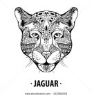stock-vector-design-for-your-t-shirt-pattern-for-coloring-book-hand-drawn-line-art-of-jaguar-for-tattoo-art-432280258