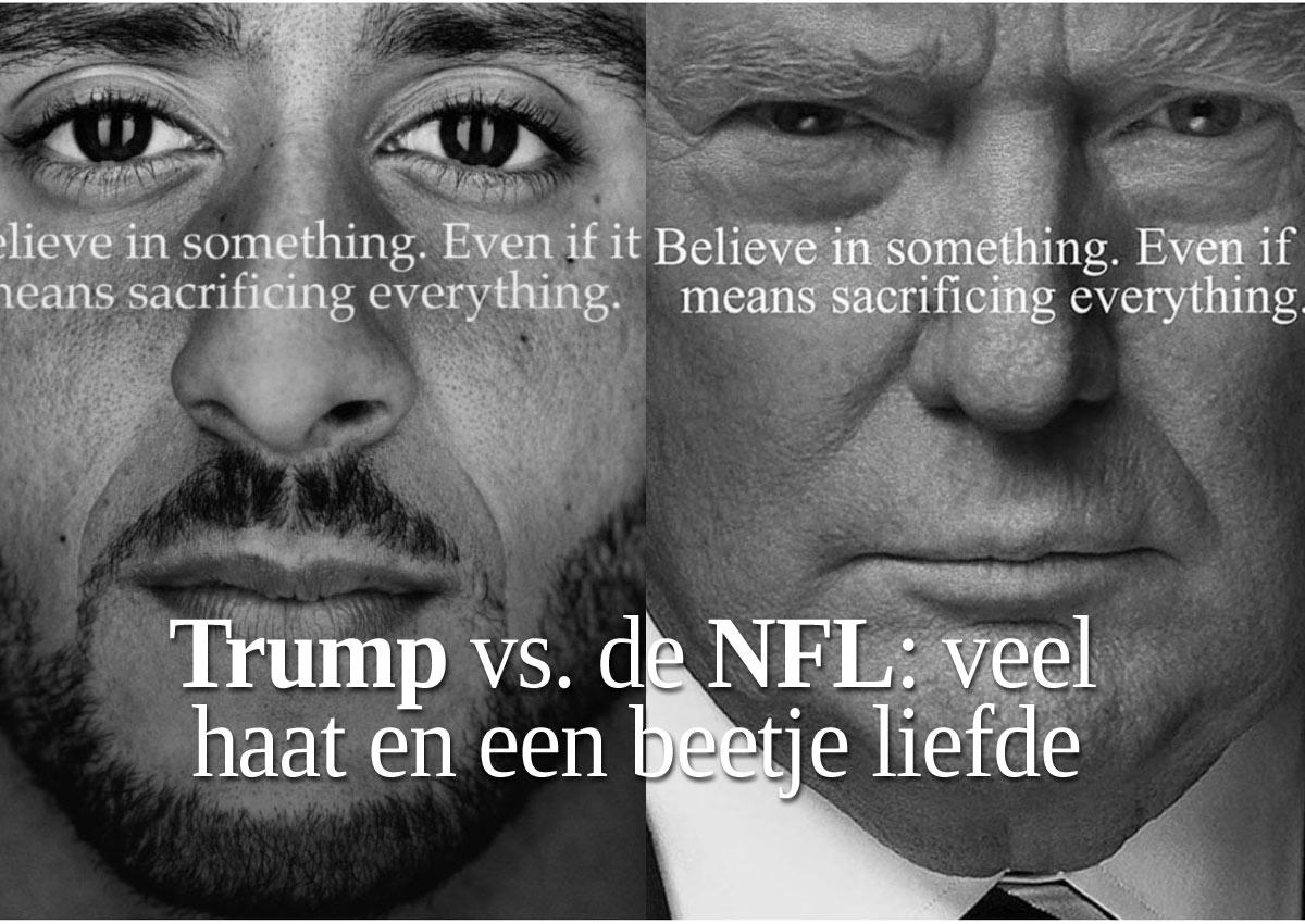 Donald Trump Vs. De NFL: Veel Haat En Een Beetje Liefde