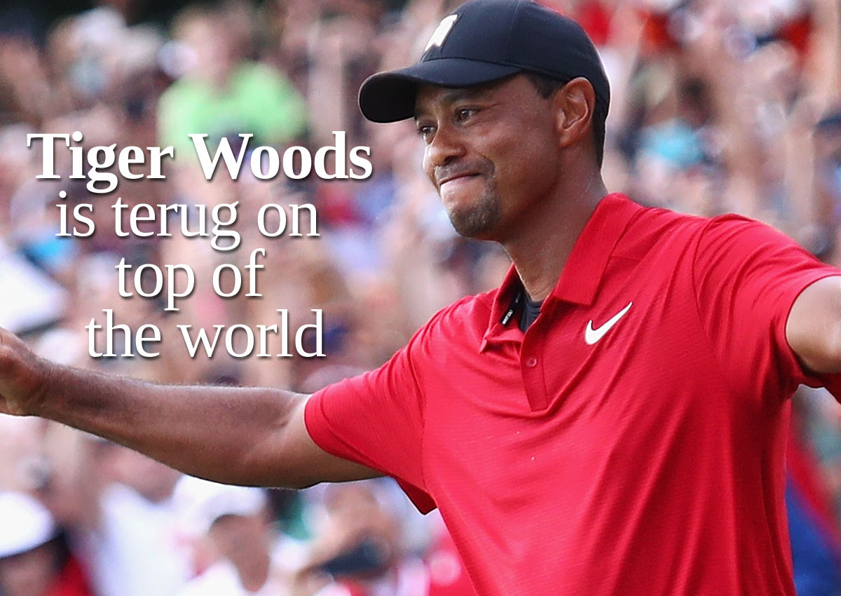 Tiger Woods Is Terug On Top Of The World: 'De Cirkel Is Rond'