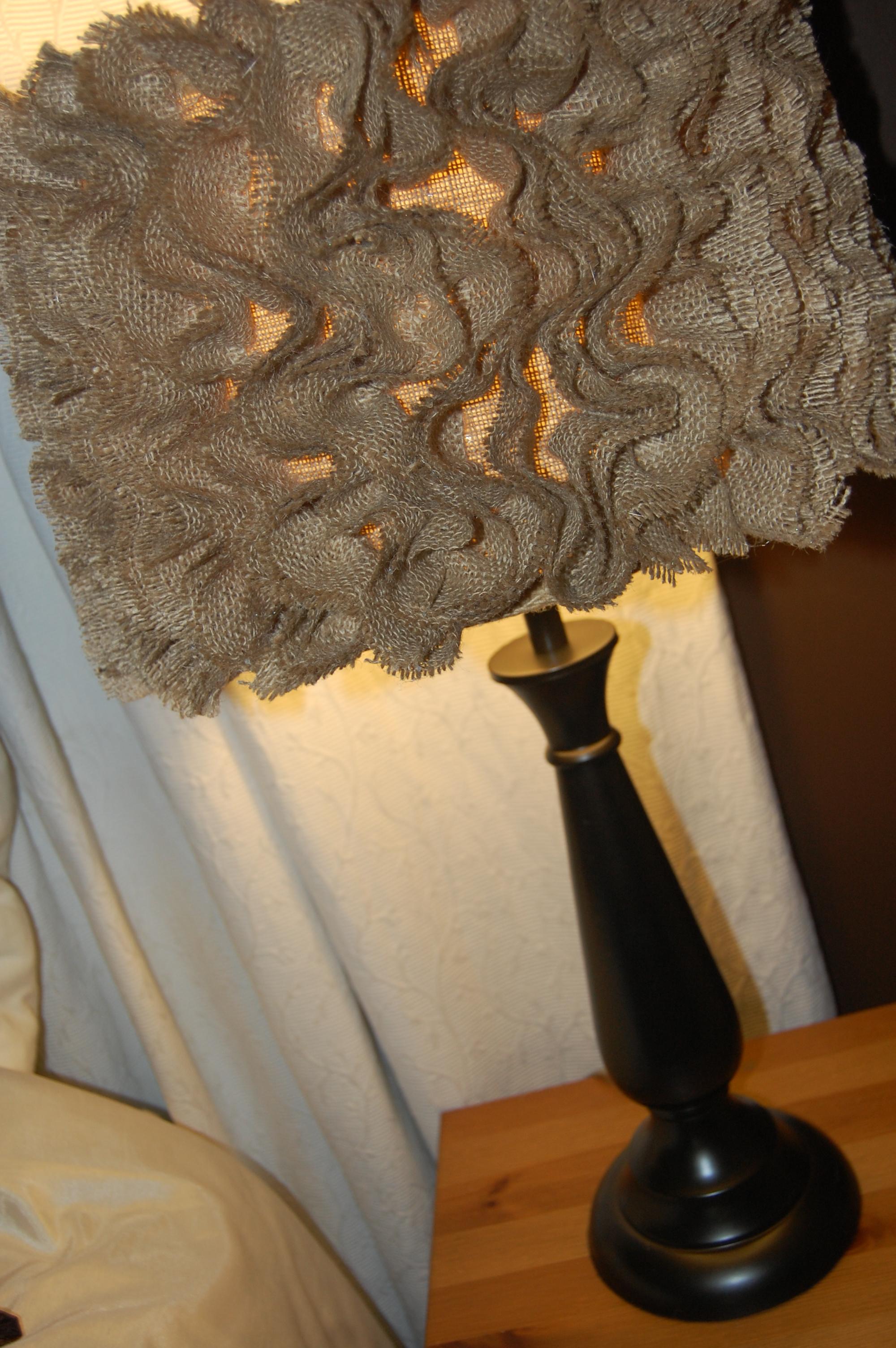 Anthropologie Inspired Ruffle Lamp Simply Beautiful