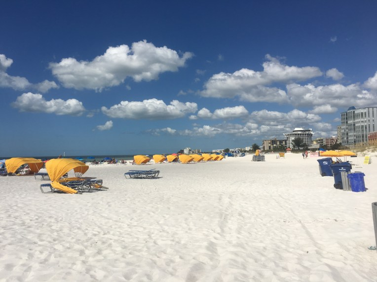 Incredible white sand