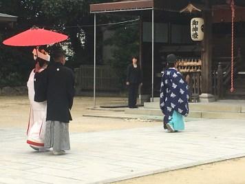 Real Japanese wedding!
