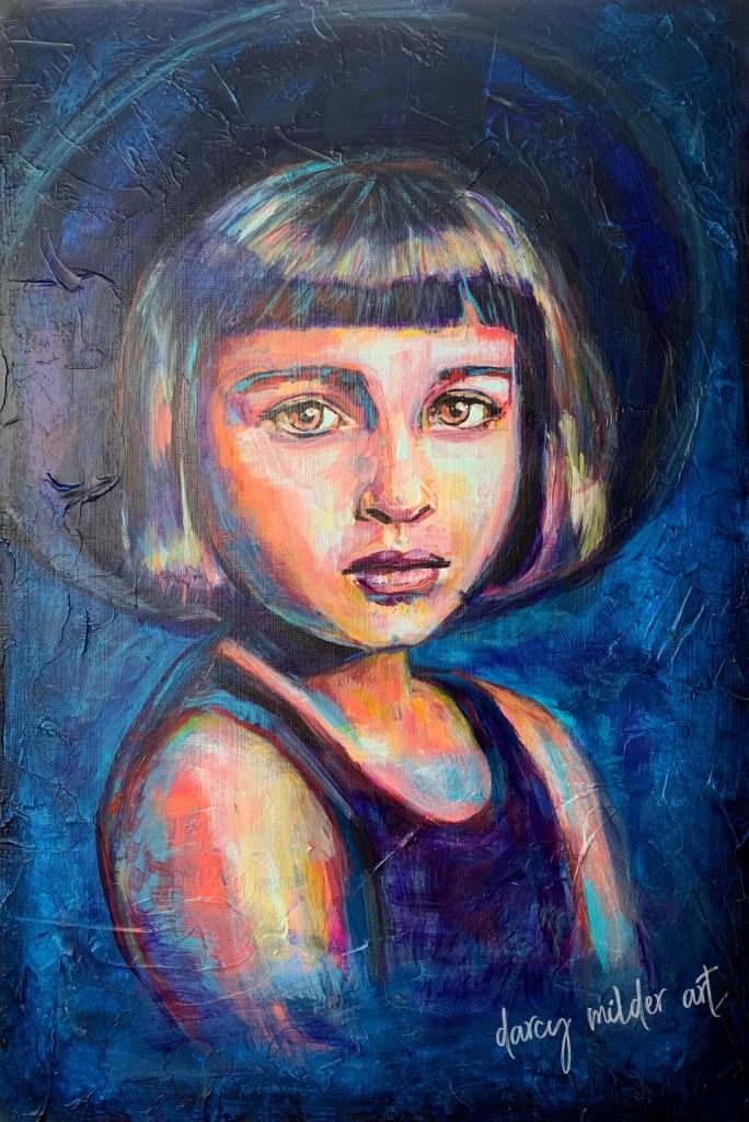 painting wall art iowa artist painter darcy milder art