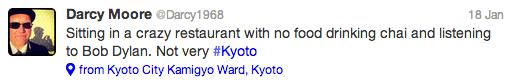 Kyoto tweet