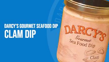 Darcy's Gourmet Sea Food Dip -  Clam Dip