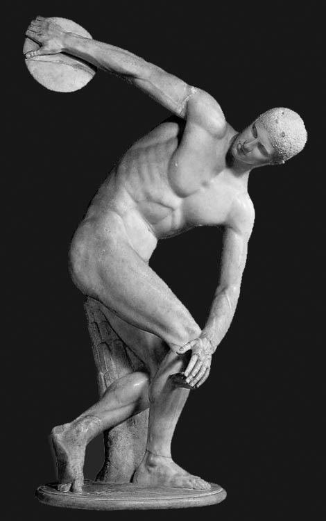 discus thrower Ancient Greece