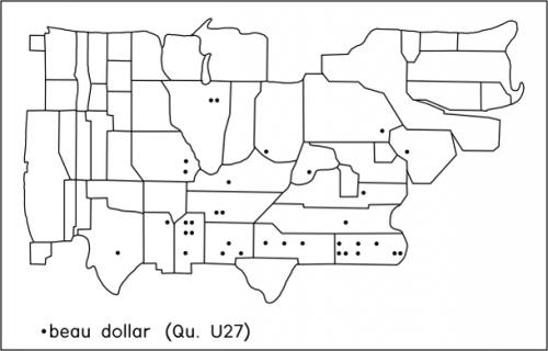 beau dollar – Dictionary of American Regional English
