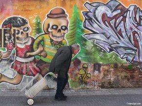 Montevideo: skulls are often a feature