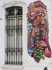 Street Art: musician