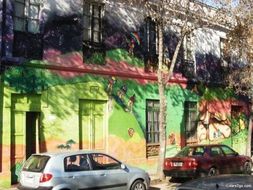Full Facade Street Art
