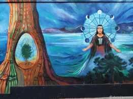 StreetArt: indigenous deity