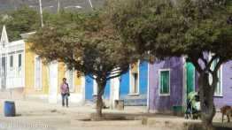 Colourful houses in Taltal