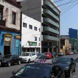 Antofagasta: the centre of town is a mix of rather ugly structures in various stages of disrepair