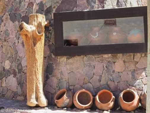 Purmamarca is a well-known tourism centre with galleries, craft stalls, restaurants, and plenty of accommodation.