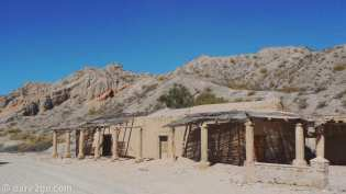 RN40: you see a number of these old mud brick estancias along the road, signs of the wealth of some earlier settlers.