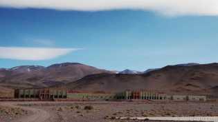 Paso San Francisco, Argentina: tourist complex at around 3600m altitude