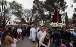 The procession in honour of Nuestra Señora de la Merced.