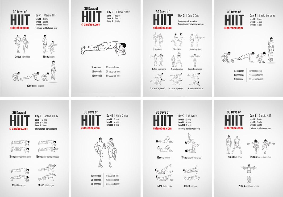 Hiit Workout Plan Wiring Schematic Diagram