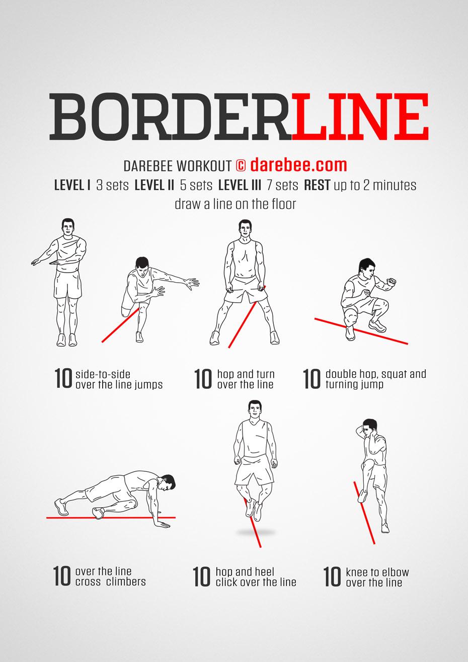 Line Jumps : jumps, Borderline, Workout