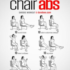Office Chair Workouts For Abs Black Covers Wedding Workout