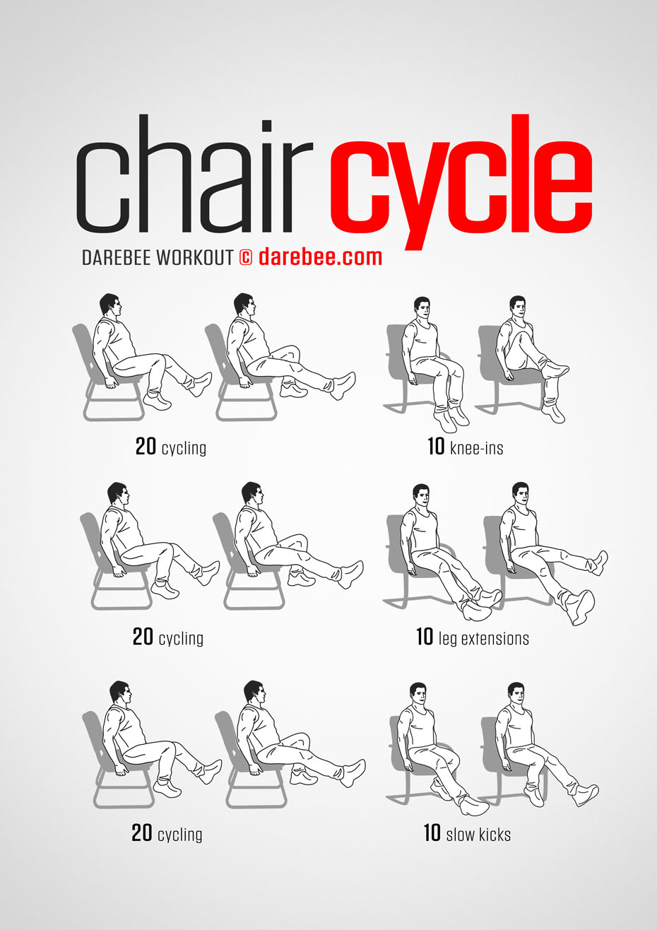 Chair Cycle Workout