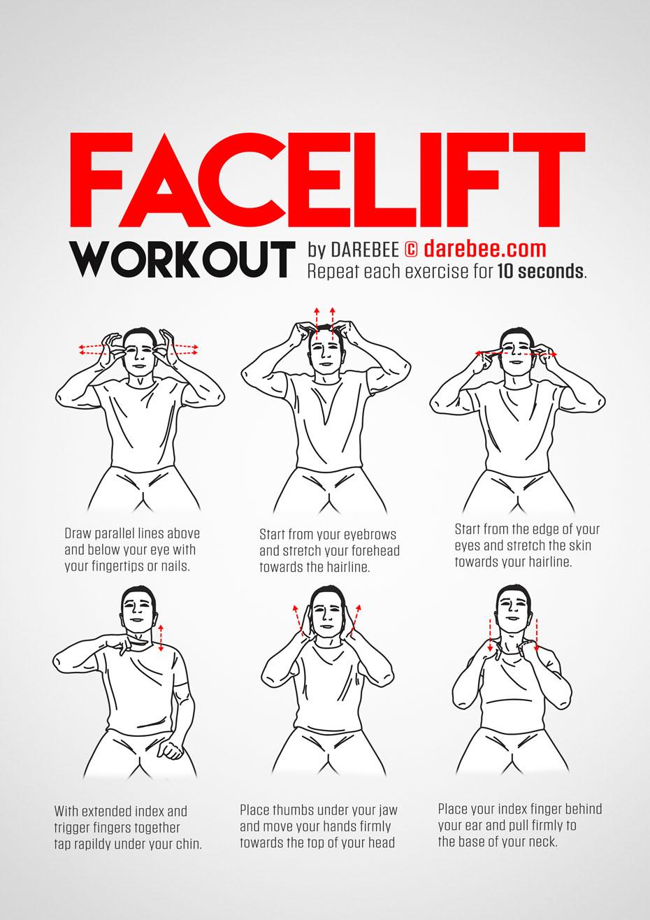facelift workout