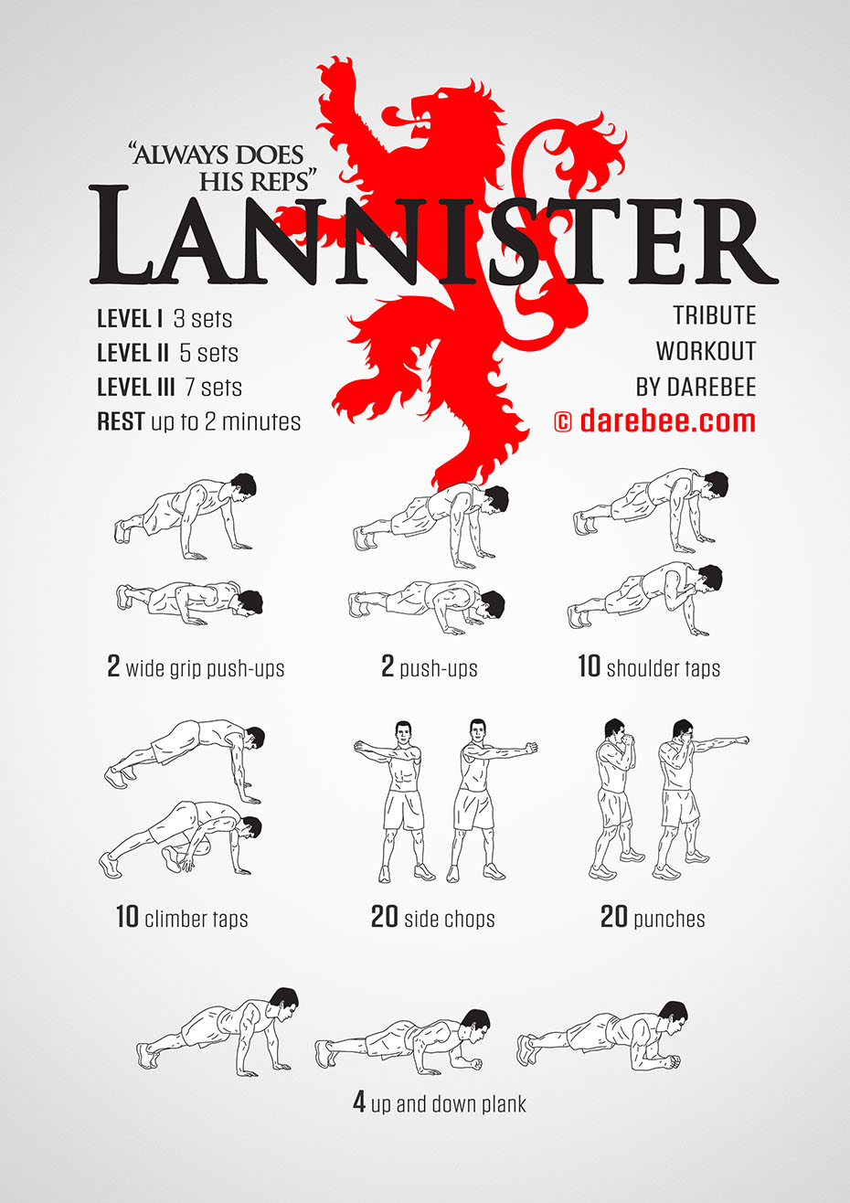lannister workout