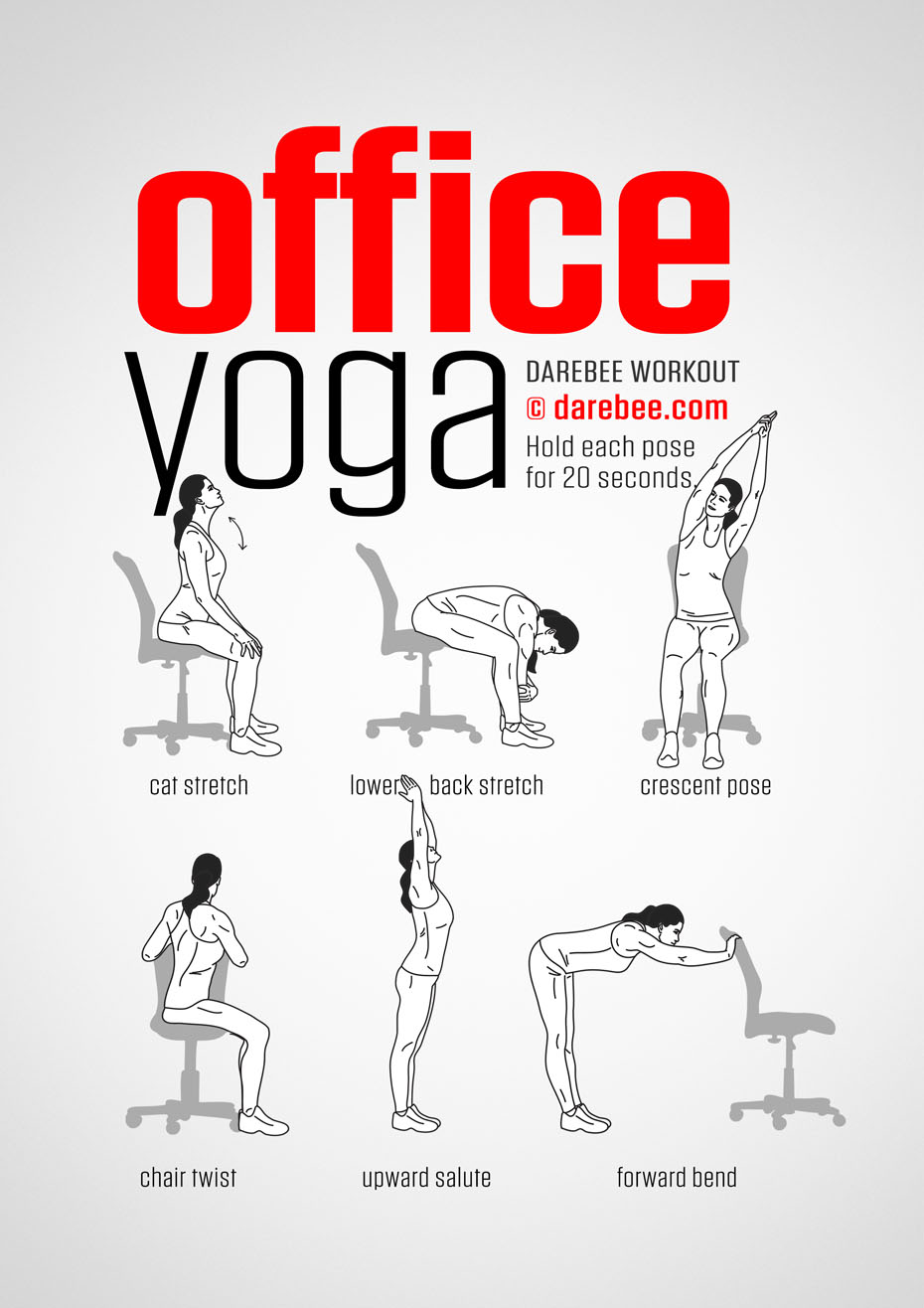 office chair exercises for abs wedding cover hire brighton yoga workout