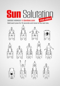 Sun Salutation / Chair Workout