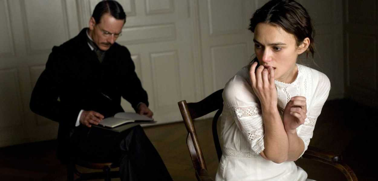 A Dangerous Method Michael Fassbender Keira Knightley