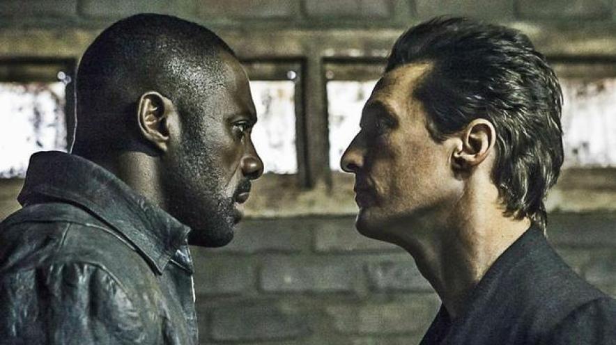 Idris Elba and Matthew McConaughey in The Dark Tower