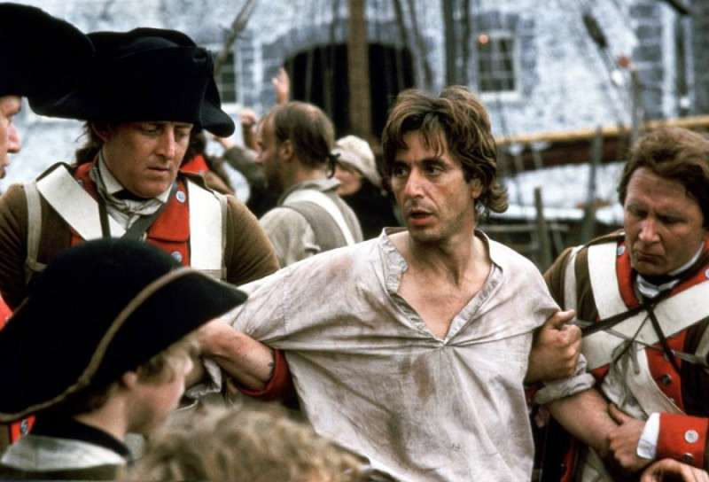 Al Pacino in Revolution