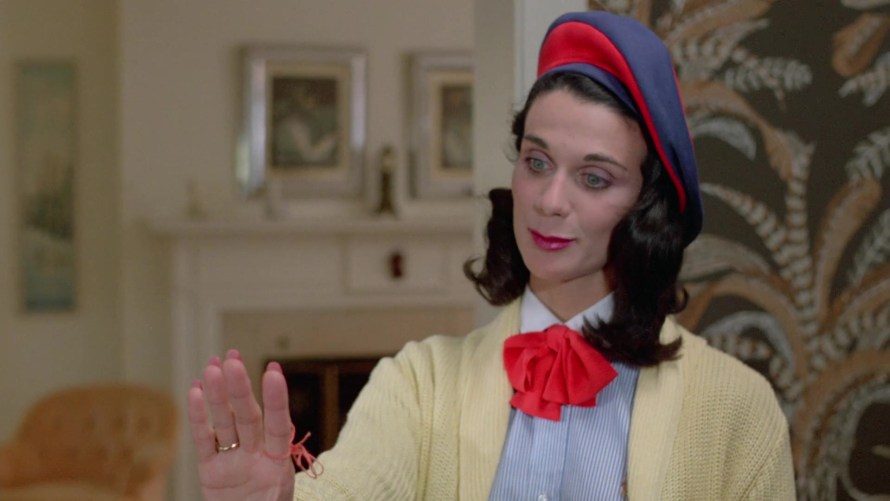 Desiree Gould as Aunt Martha in Sleepaway Camp