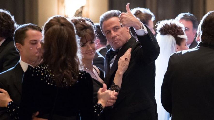 John Travolta gives the thumbs-up in Gotti
