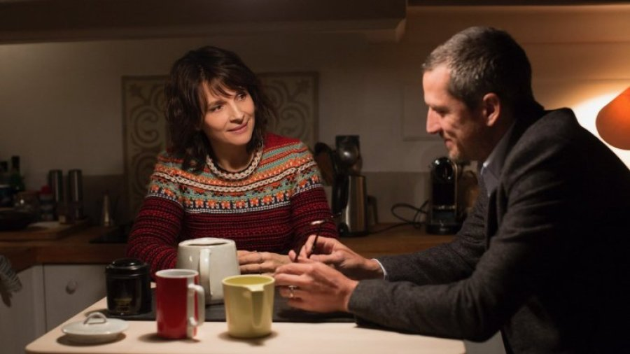 Juliette Binoche and Guillaume Canet in Non-Fiction