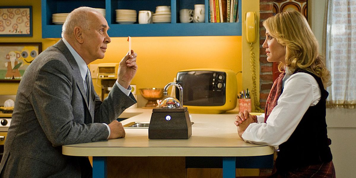 Frank Langella and Cameron Diaz in the 2009 film The Box